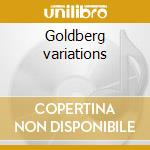 Goldberg variations cd musicale di Bach