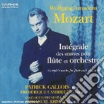 Integrale delle opere per flauto e orche cd musicale di Wolfgang ama Mozart