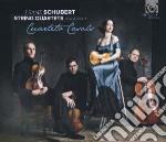 Quartetto n.10 d 87, n.16 d 887 cd musicale di Franz Schubert