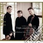 Concerto triplo op.56; egmont op.84 cd musicale di Beethoven ludwig van