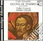 Gesualdo Carlo Da Venosa - Repons De L'office Des Tenebres Du Jeudi /deller Consort cd musicale di GESUALDO CARLO PRINC