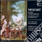 CONCERTI X CORNO, RONDO' K 371 E K 514 cd musicale di Wolfgang Amadeus Mozart