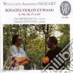 SONATA X VL K 303, 306, 377, 547 cd musicale di Wolfgang Amadeus Mozart