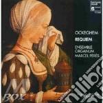 REQUIEM cd musicale di Johannes Ockeghem