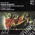 FUNERAL SENTENCES, TE DEUM, ANTHEMS cd musicale di Henry Purcell
