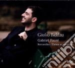 Barcarolles, theme et variations cd musicale di Gabriel Faur�