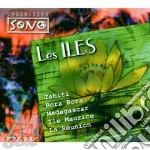 LES ILES cd musicale di TAHITI/MADAGASCAR/RE