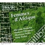FEMMES D'AFRIQUES cd musicale di M.MAKEBA/O.DIOUBATE/