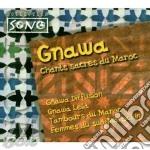 GNAWA CHANTS SACRES MAROC cd musicale di DIFFUSION/G.LEILA