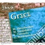 GRECE cd musicale di M.THEODORAKIS/V.TSIT