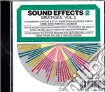 Sound Effects - Bruiaege Vol.2 cd musicale