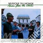 Italie:voix d'hommes cd musicale di Artisti Vari