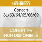 CONCERT 61/63/64/65/66/69 cd musicale di PETERSON OSCAR