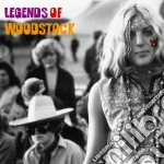 Legends of woodstock cd musicale di Artisti Vari