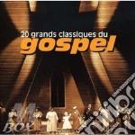 Gospel-20 grands classiques cd musicale di Artisti Vari