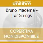 For strings cd musicale