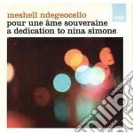 Meshell Ndegeocello - Pour Une Ame Souveriane cd musicale di Ndegeocello Meshel