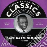 1947-1950 cd musicale di BARTHOLOMEW DAVE