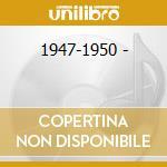 1947-1950 - cd musicale di Glenn Lloyd