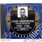 1934-1936 cd musicale di ARMSTRONG LOUIS