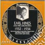 1932-1934 cd musicale di EARL HINES