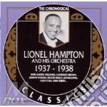 1937-1938 cd musicale di LIONEL HAMPTON