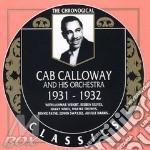 1931-1932 cd musicale di CAB CALLOWAY