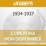 1934-1937 cd musicale di EARL HINES