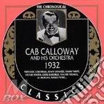 Cab Calloway - 1932 cd musicale di CAB CALLOWAY