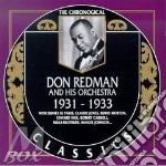 1931-1933 cd musicale di DON REDMAN