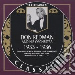 1933-1936 cd musicale di DON REDMAN