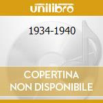 1934-1940 cd musicale di ART TATUM