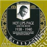 1938-1940 cd musicale di HOT LIPS PAGE