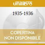 1935-1936 cd musicale di ALLEN HENRY