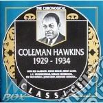 1929-1934 cd musicale di HAWKINS COLEMAN