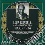 1930-1934 cd musicale di LUIS RUSSELL & HIS O
