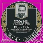 1935-1937 cd musicale di TEDDY HILL & HIS ORC
