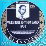 1931 cd musicale di MILLS BLUE RHYTHM BA