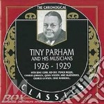 1926-1929 cd musicale di TINY PARHAM AND HIS