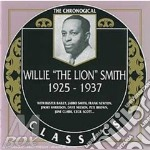 1925-1937 cd musicale di WILLIE THE LION SMIT