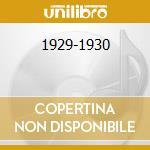 1929-1930 cd musicale di NICHOLS RED
