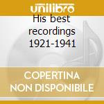 His best recordings 1921-1941 cd musicale di Fletcher Henderson