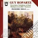 NOTTURNO N.3, MUSICHE DI GIARDINO, OUVER cd musicale di Joseph-guy Ropartz