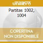 Partitas 1002, 1004 cd musicale di Johann Sebastian Bach