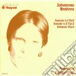Brahms Johannes - Sonate Per Pianoforte Nn.1 E 2 - Scherzo Op.4 cd musicale di Johannes Brahms