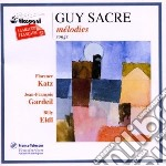 Sacre Guy - Musica Vocale cd musicale di Guy Sacre