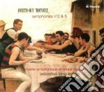 Ropartz Joseph-guy - Sinfonia N.2 In Fa Minore, Sinfonia N.5in Sol Maggiore cd musicale di Joseph-guy Ropartz