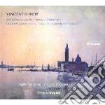 D'indy Vincent - Sinfonia  'italiana', Concerto Per Pianoforte, Flauto, Violoncello E Archi Op.89 cd musicale di D'INDY