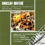 Martinu Bohuslav - Musica Da Camera N.1, Fantasia, Les Rondes, Nonetto cd musicale di Bohuslav Martinu