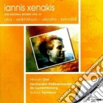 Xenakis Iannis - Opere Orchestrali Vol.4 cd musicale di Iannis Xenakis